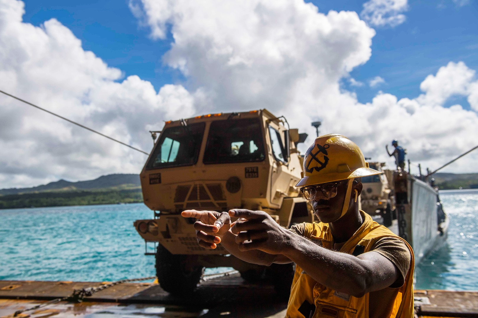 Guam National Guard plays role in moving supplies to Saipan
