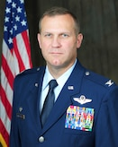Official photo of Col. Keith Allbritten, commander, 118th Wing.