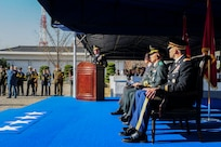 The remains of a United Nations Command service member were repatriated during a ceremony held at U.S. Army Garrison Yongsan, Republic of Korea, Nov. 20, 2018. The remains will be taken to the U.S. Department of Defense POW/MIA Accounting Agency in Hawaii to continue with the identification process. 