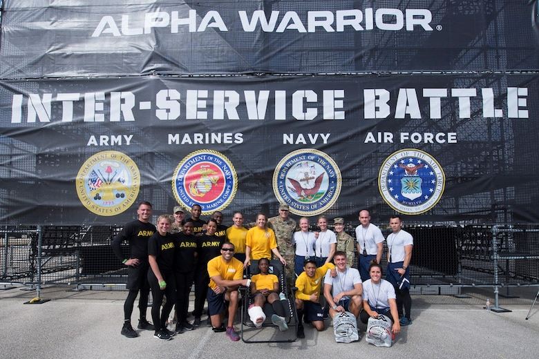 The first Inter-Service Alpha Warrior Battle took place Saturday, Nov. 17, 2018 at the Alpha Warrior Proving Grounds Retama Park in Selma, Texas.