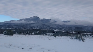 TRINIDAD, Colo. – Snow and fog surround Fisher's Peak, Oct. 31, 2018. Photo by Robin Henry. This was a 2018 photo drive entry.
