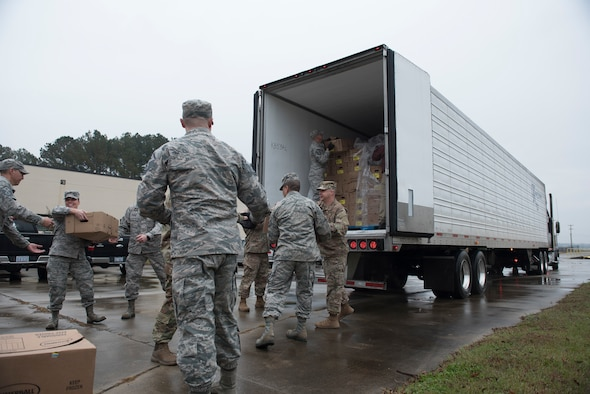 Diamonds deliver gobblers to Airmen