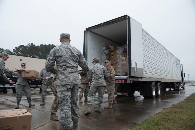 Diamonds deliver gobblers to Airmen