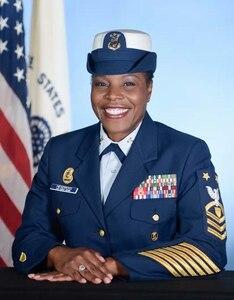Phot of Command Master Chief Adwoa S. Hendricks
