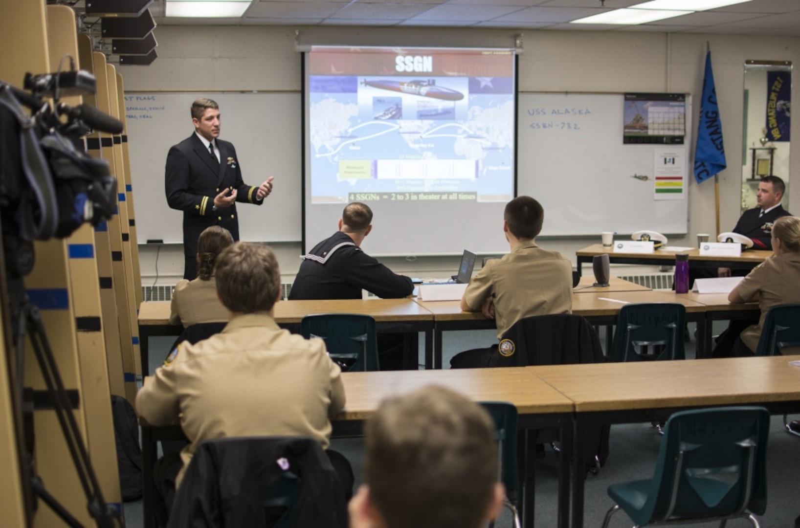 USS Alaska Sailors Visit Namesake State
