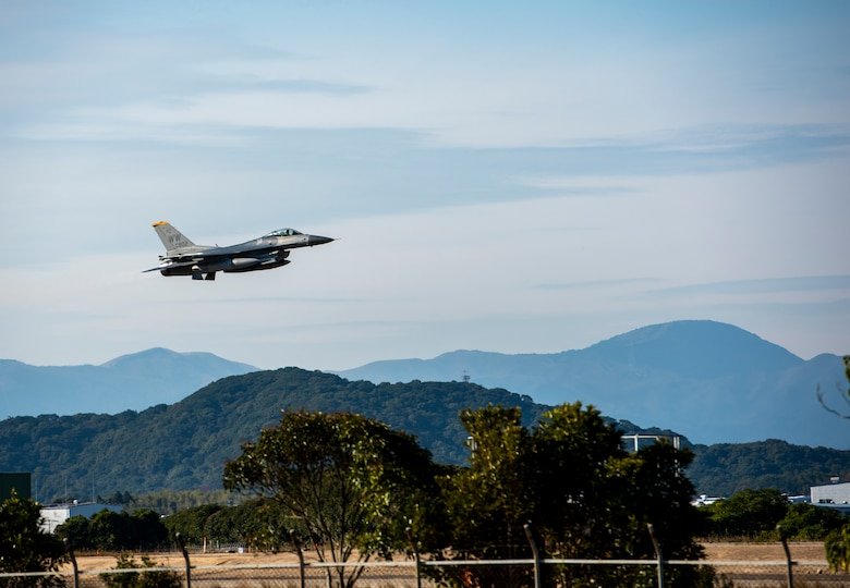 The 35th Fighter Wing participated in an aviation training relocation at Tsuiki Air Base, Japan, Nov. 5-8.