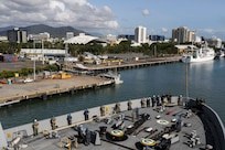 USS Green Bay visits Cairns
