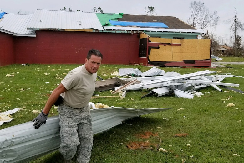 South Carolina Air National Guard helps Tyndall Air Force Base recover from Hurricane Michael