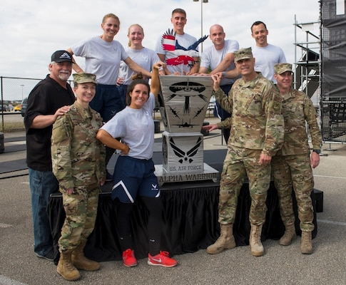 The first Inter-Service Alpha Warrior Battle took place Nov. 17, 2018, at the Alpha Warrior Proving Grounds, Retama Park in Selma, Texas. The Air Force took home the title inter-service champions with a team finish time of 2:17:33.