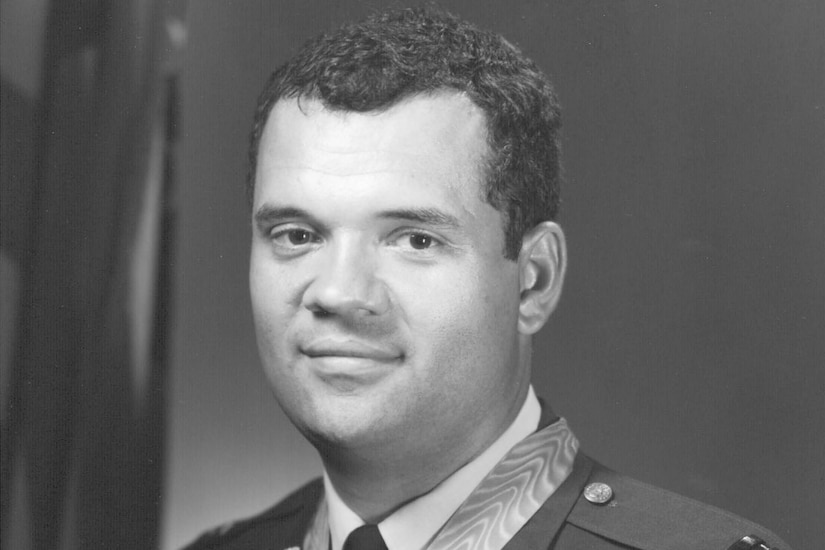 Medal of Honor recipient then-Air Force Capt. James P. Fleming