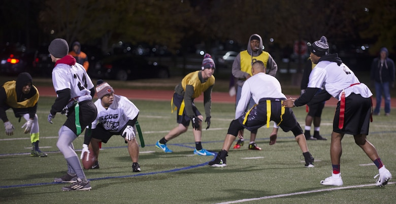 635th SCOG wins Intramural flag football championship