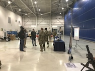 The West Virginia Army National Guard (WVARNG) Fixed Wing Army National Guard Aviation Training Site (FWAATS) in Bridgeport, W.Va., hosted the first-ever WVARNG military career fair Nov. 13-15, 2018 for high school and college students in Harrison County, W.Va. and the surrounding areas.