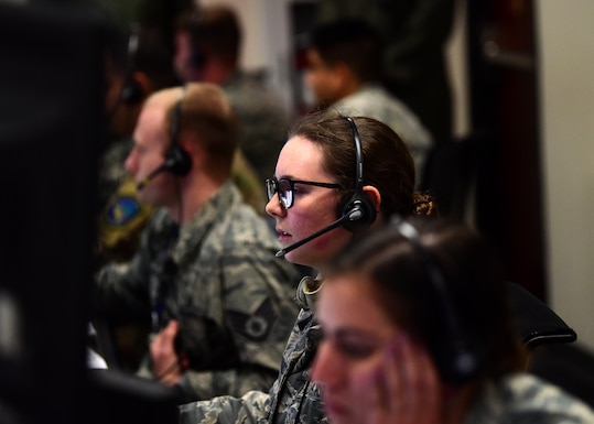 81st RCS controls first mission in wake of Hurricane Michael