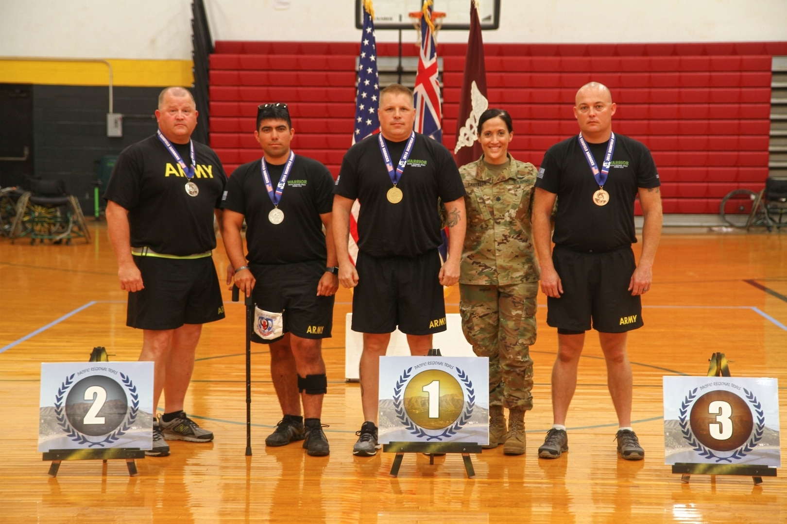 Wounded warrior athlete takes aim at Pacific Regional Trials