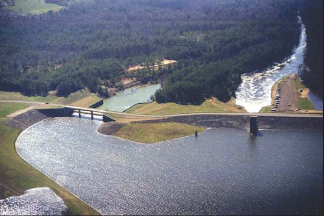 Fort Worth District works with several partners to make the appropriate water releases from Lake O' the Pines Dam to support the study at Caddo Lake.