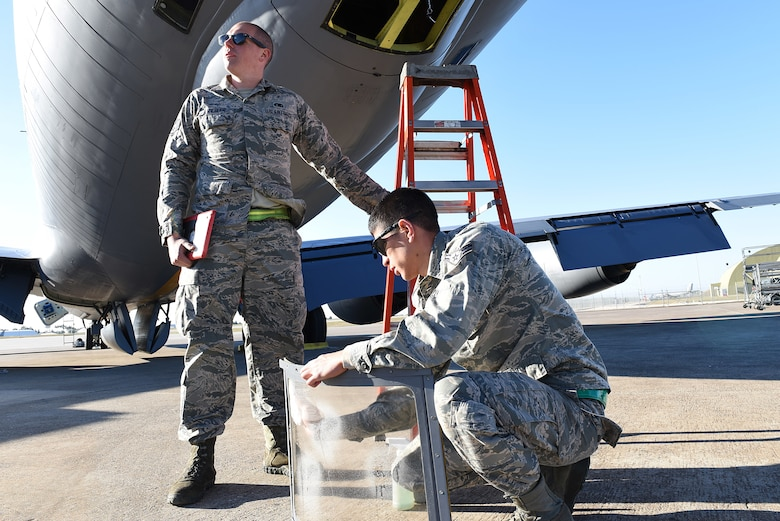 U.S. Air Force Staff Sgt. Justin Ziegler and Airman