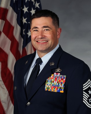 Command Chief Brent Cavanias Official Photo