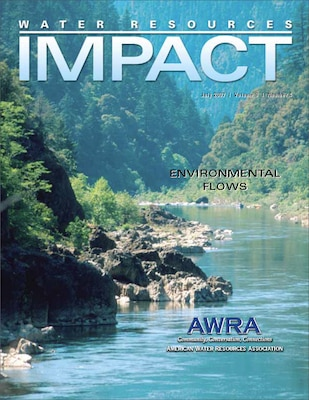 This issue of Water Resources IMPACT focuses on environmental flows and sustainable water management.