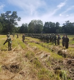Island Warriors work alongside their Royal Brunei Land Force