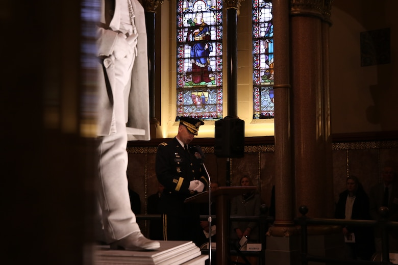 President Garfield revered and remembered