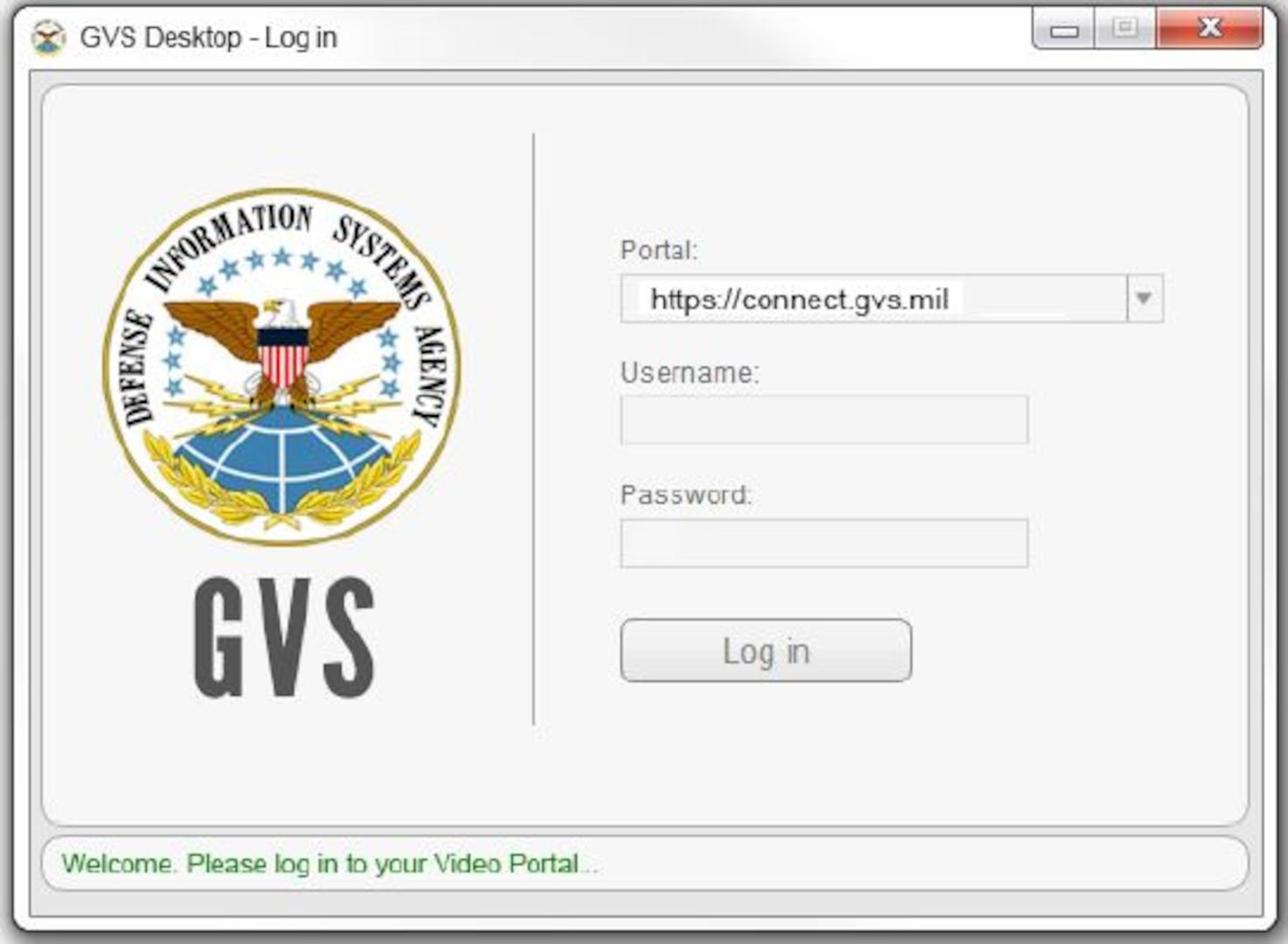 Computer screenshot of a login dialogue box
