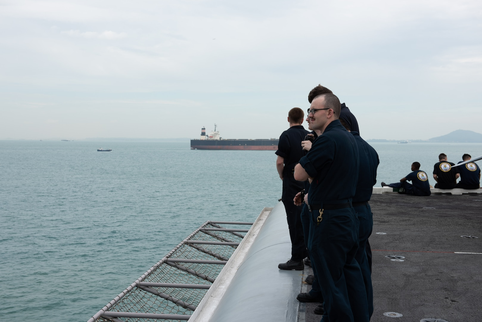 John C. Stennis Carrier Strike Group Ships Visit Singapore