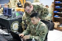 The first ever cyber competition between Army and Air Force cadets took place Nov 2, 2018. The Capture the Flag competition lasted approximately six hours where both teams were scored on their defensive, offensive, and overall cyber performance.