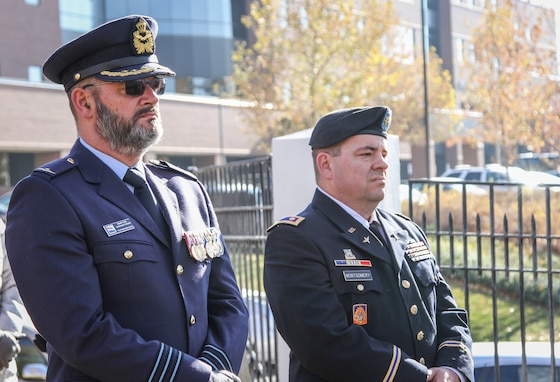 Army Reserve Soldiers attend German National Day of Remembrance event