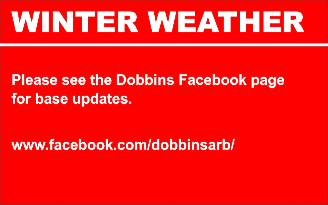 Please see the Dobbins Facebook page for base updates.   www.facebook.com/dobbinsarb/
