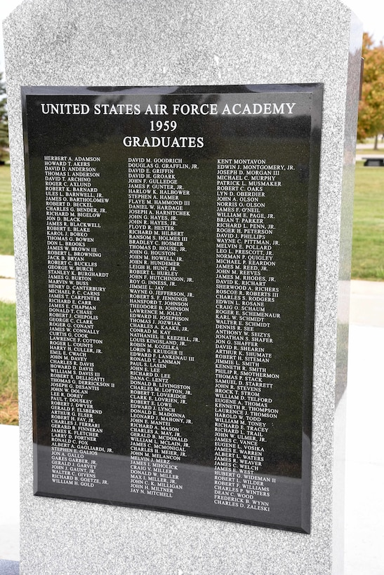 First Class of the Air Force Academy Memorial at the National Museum of the USAF.