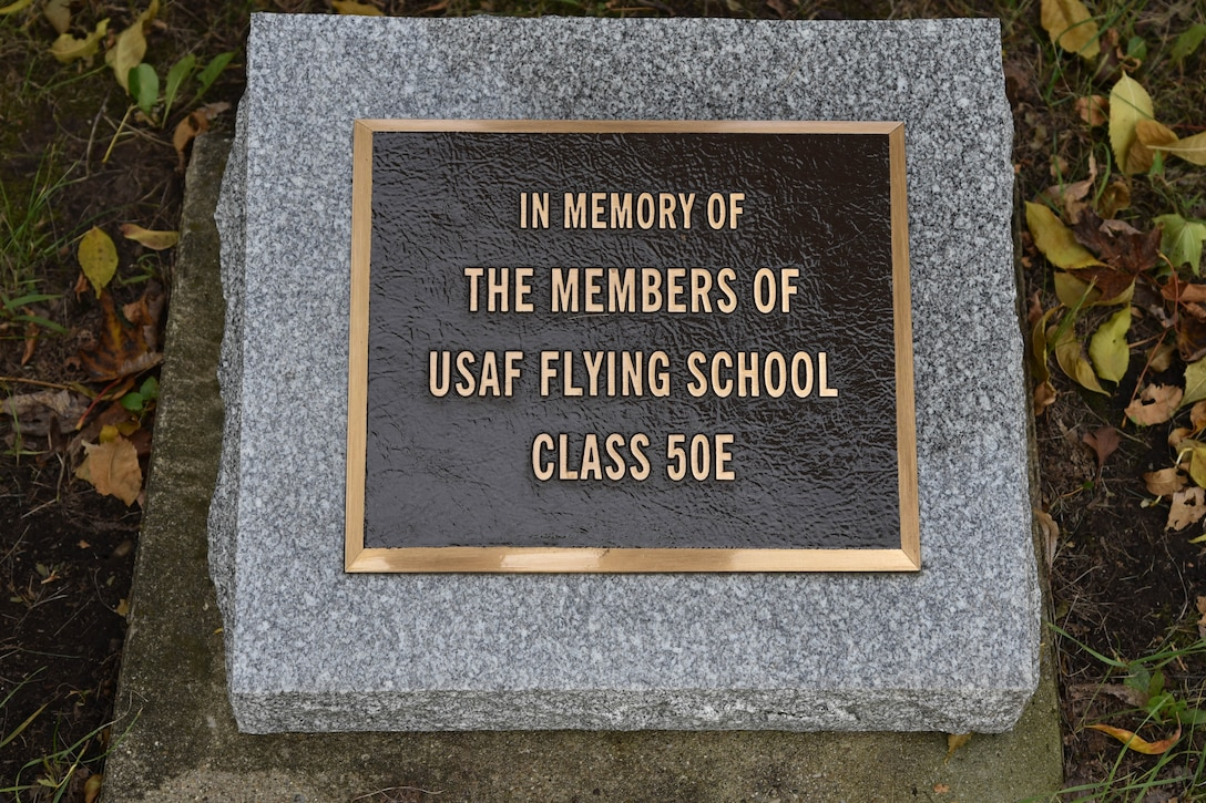 USAF Flying School Class 50E Memorial at the National Museum of the USAF.