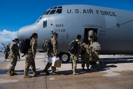 36th CRG Continues Super Typhoon Yutu Recovery Efforts In Tinian