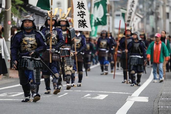 Marines participate in 29th annual Kuragake Festival