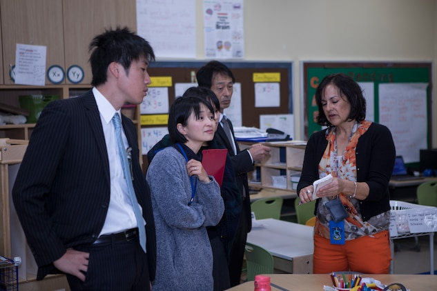 American and Japanese educators collaborate at MCAS Iwakuni