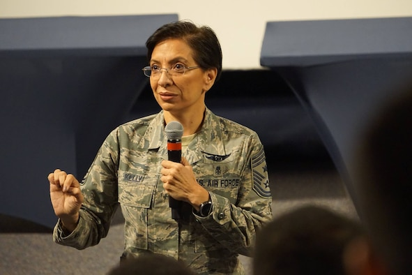 AFRC Command Chief Master Sgt Ericka Kelly