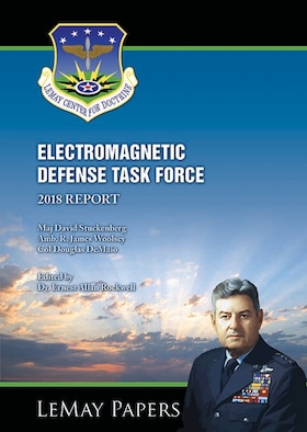 Book Cover - Electromagnetic Defense Task Force (EDTF) 2018 Report
