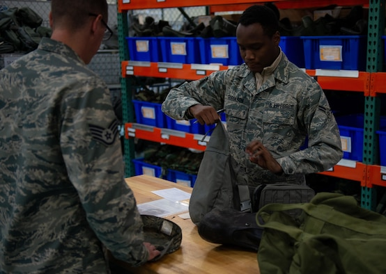 CBRN gear checkout process improves