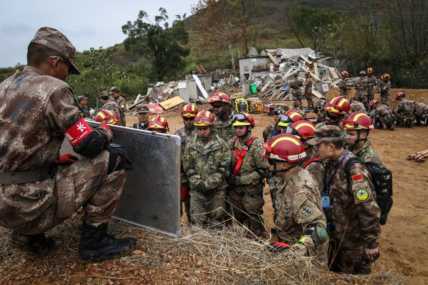 USARPAC and PLA Participate in 14th Iteration of Disaster Management Exchange in Nanjing, China