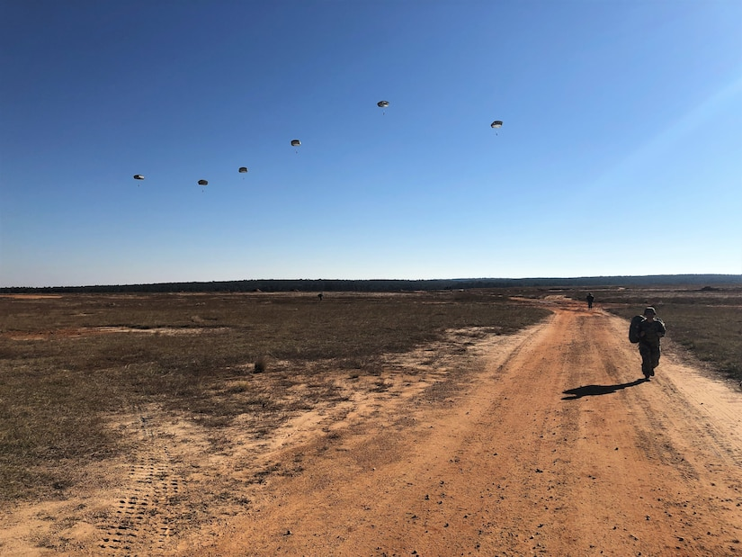 Operation Toy Drop begins with familiarization jump
