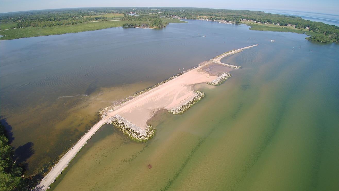 Braddock Bay Barrier Beach, complete.