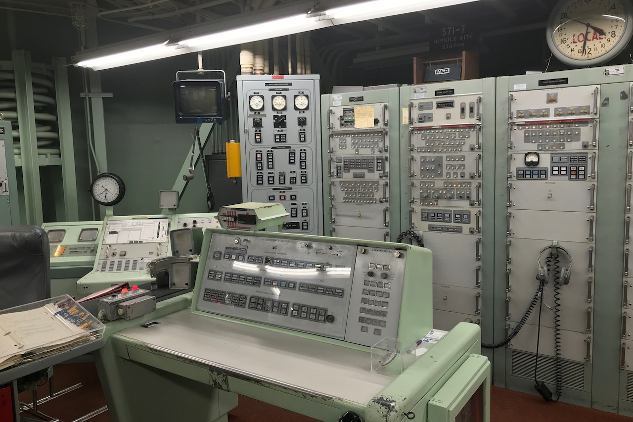 Teaching Deterrence: This Nuclear Missile Bunker Takes