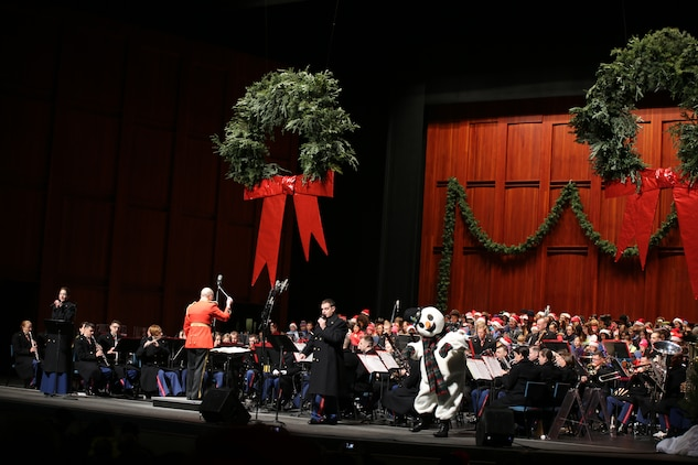 Marine Band at Wolf Trap Holiday Sing-Along