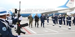 BOGOTA, Colombia (Nov. 28, 2018) -- Navy Adm. Craig S. Faller, commander of U.S. Southern Command, arrives in Colombia for his first official trip. The admiral will meet with Colombian leaders to discuss the U.S.-Colombia security partnership and to visit the U.S. Navy hospital ship USNS Comfort as it provides care in Riohacha. Photo by Fernando Soto, U.S. Embassy Bogota)