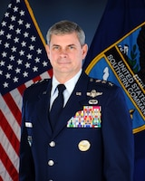 Official bio photo of Air Force Lt. Gen. Michael T. Plehn