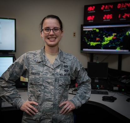 932nd Airlift Wing Airman Spotlight on Command Post technician, Staff Sgt. Jessica Roberts.