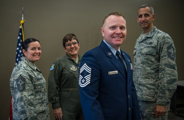 Congrats to Chief Master Sgt. Darren Wiseman on his STEP promotion.