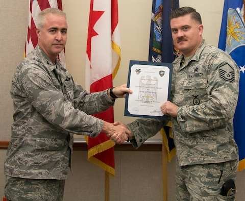 Redden Receives German Military Award
