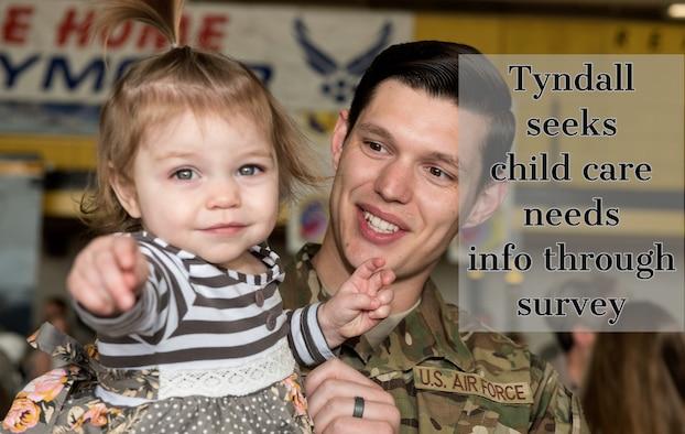 Tyndall seeks child care needs info through survey