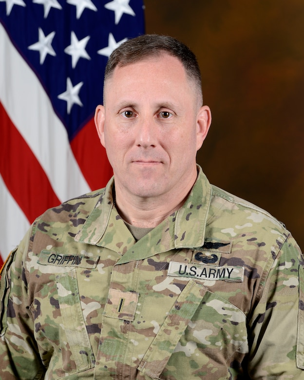 Command Chief Warrant Officer 5 Hal Griffin III
