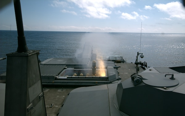 USS Detroit Begins Operational Testing of LCS Surface-to-Surface Missile Module